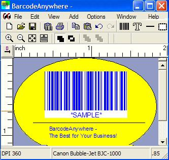 2P Barcode Creator